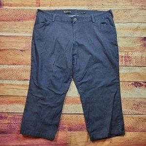 Lee Curvy Fit Trouser Pants Plus Size 22W Petite